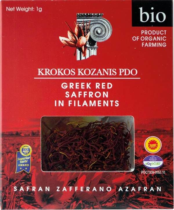 krokos kozanis greek red saffron filaments